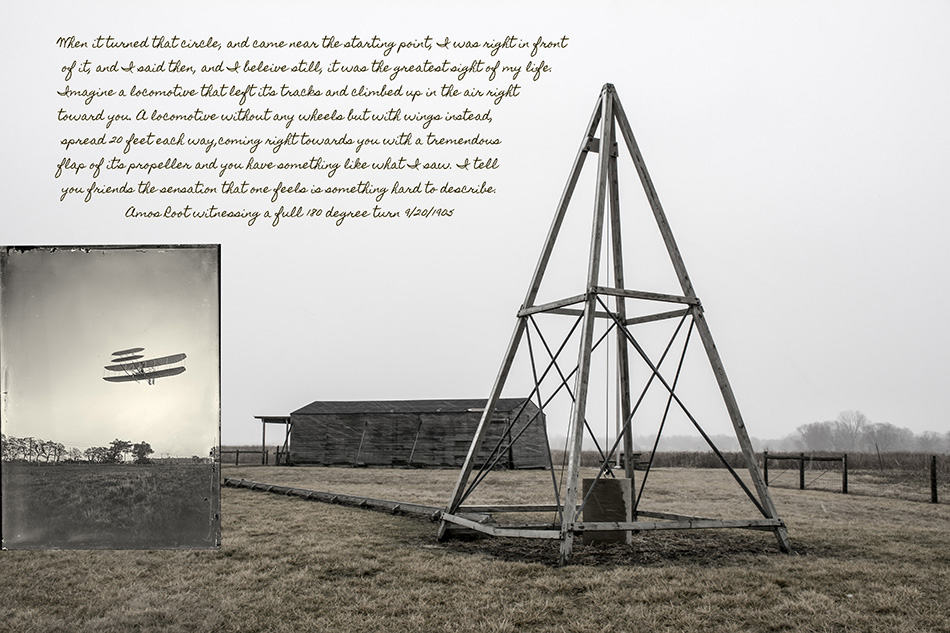 Wright Brothers Amos Root quote by Dan Cleary of Cleary Creative Photography in Dayton Ohio