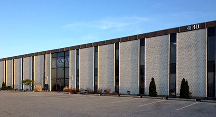 Event Connection building Dayton Ohio by Cleary Creative Photography