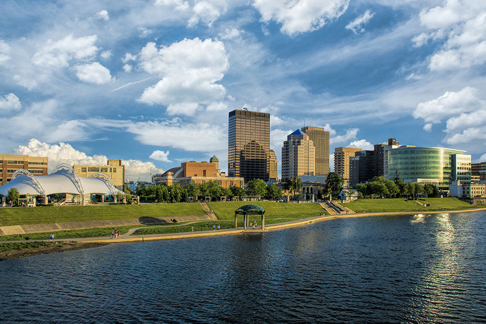 RiverScape Metro park in downtown Dayton Ohio by Cleary Creative Photography