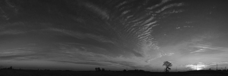 Ohio Black & White Landscapes series